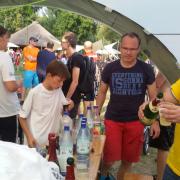 GODYO Drachenboot-Sprint Team-Vorbereitungen