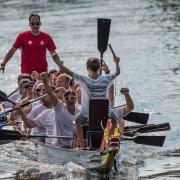 GODYO Drachenboot-Sprint Team im Ziel