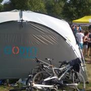 GODYO-Drachenbootrennen-Zelt