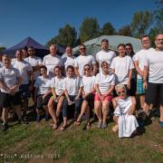 GODYO Drachenboot-Sprint Mannschaft