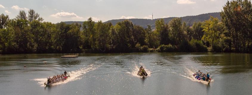 Drachenboot-Sprint GODYO-Team in Action