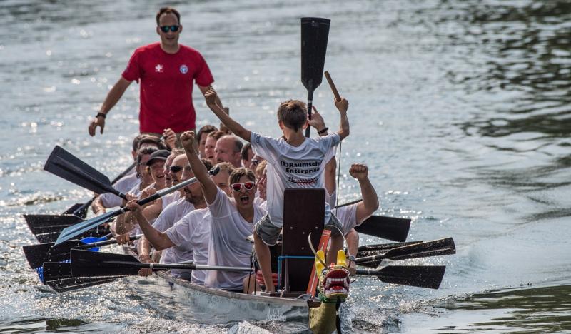 GODYO Drachenboot-Sprint - so sehen Sieger aus!