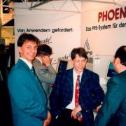 """CeBIT-Premiere mit dem PPS-System """"PHOENIX"""" 1994"""