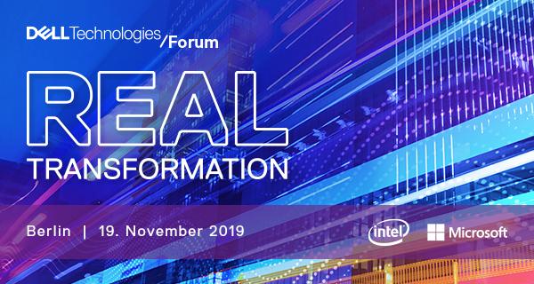Dell Technologies Forum 2019 – Berlin