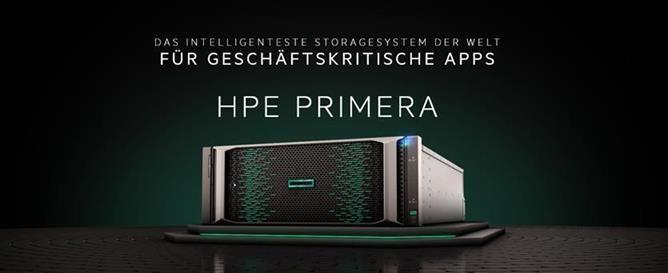 HPE PRIMERA - Das intelligente Storagesystem