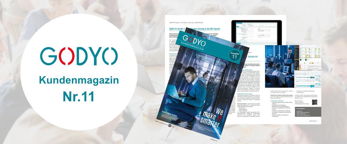 GODYO Kundenmagazin Ausgabe 11