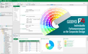 Individuelle Farbgestaltung | Machen Sie aus Ihrem GODYO P4 Ihr ERP mit den Anpassungen an Ihr Corporate Design.
