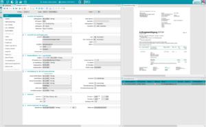 GODYO P4 Formulare | Vorschau von Einkaufs- und Verkaufspapieren inkl. Funktionen zum Drucken, Speichern, Versenden, etc.
