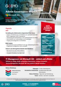 M365 Workshop - Admin Governance